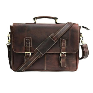 Brian Leather Messenger Bags - BohoEntice