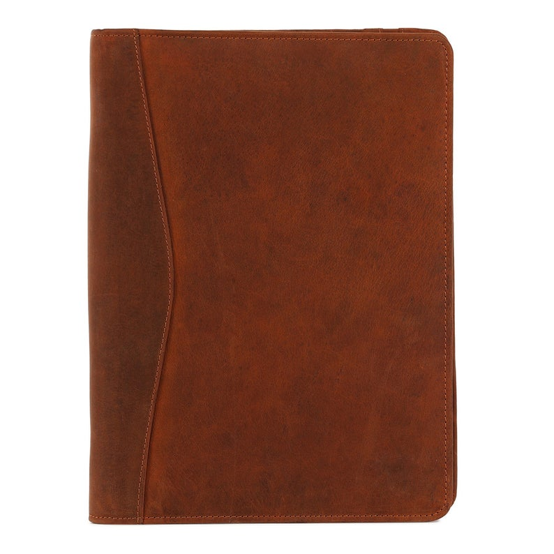 Fathers day Gift Business Leather Padfolio Leather Portfolio Professional Organizer - BohoEntice