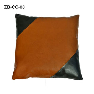 Multi Designed Genuine Leather Cushion Cover, Pillow Cover - Halloween Gift