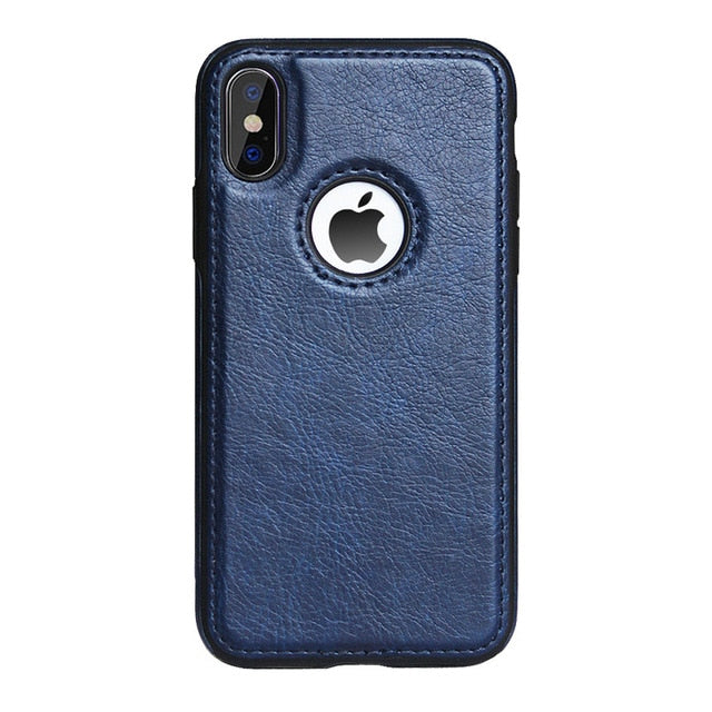 Slim PU Leather Case for iPhone 11 XS Max XR Ultra Thin Phone Cases Cover For iphone X 8 7 Plus 6 6s Case Coque Fundas Capa - BohoEntice