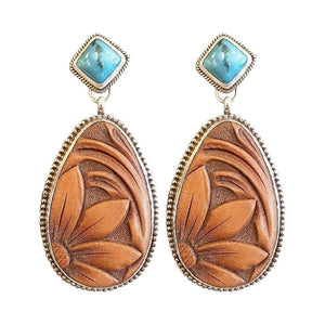 Geometric Vintage Drop Danglers For Women - BohoEntice