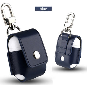 Leather Cover Skin Case With Carabiner Protective - BohoEntice
