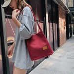Minimalist Large Capacity Shoulder  Messenger Bag - BohoEntice
