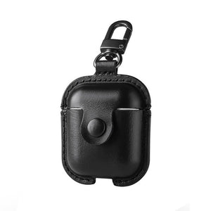 Leather Headphone Protector Case Cover For AirPods - BohoEntice