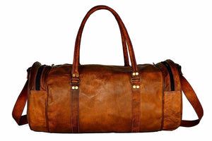 Vincent Classic Travel Gym Vintage Duffle Bag - BohoEntice