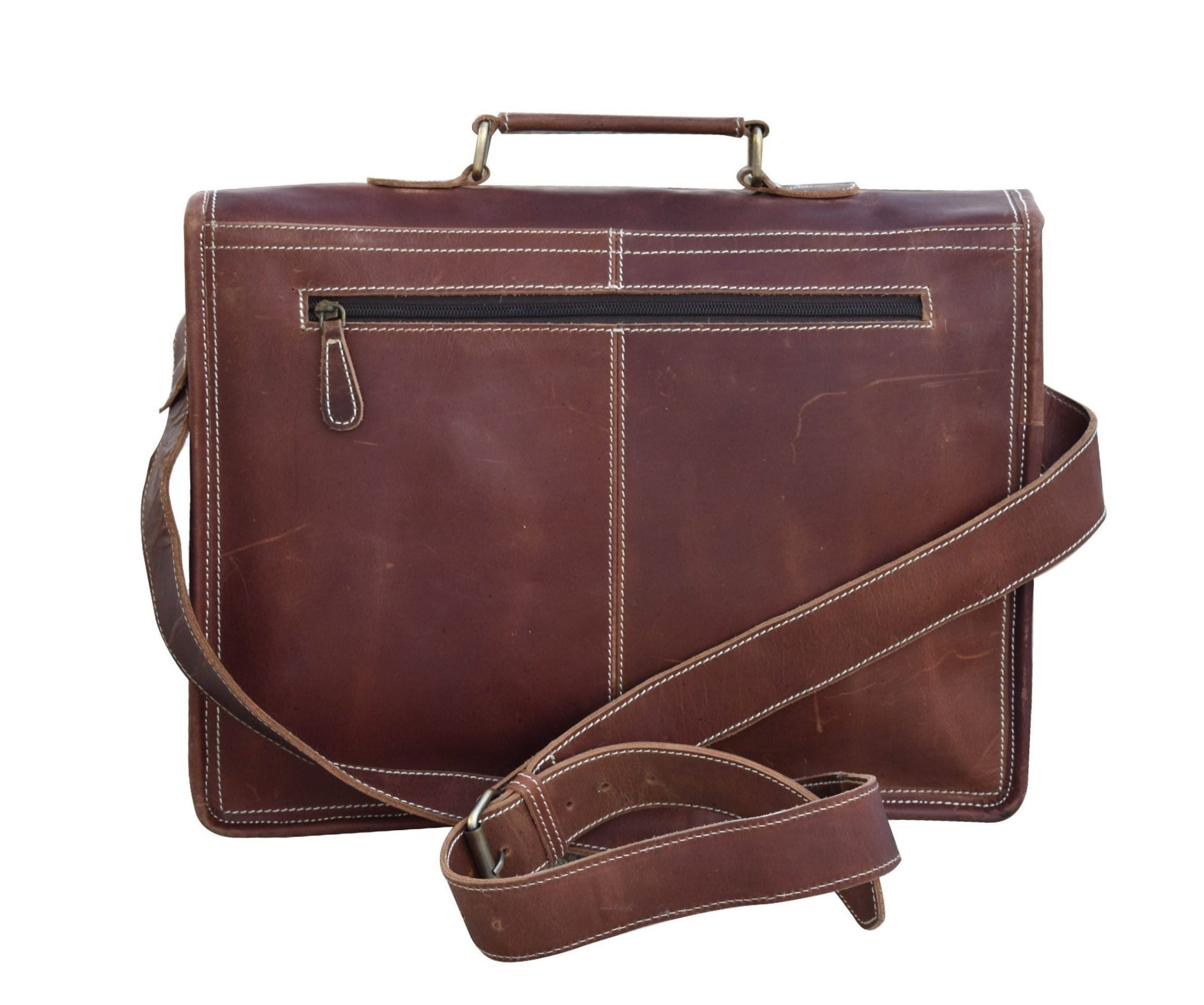 Jeremy Mens Crossbody Messenger bag - BohoEntice