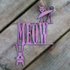 Meow Wall Hanging