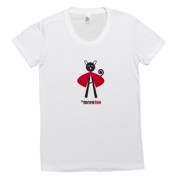 """#meow too"" Women's T-shirt"