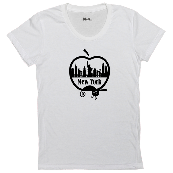 Mew York Big Apple Women's Adult Tee