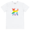 """Rainbow Kitty"" - Unisex T-shirt"