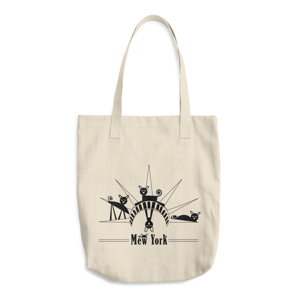 """Mew York: Statue of Liberty"" (alt) Tote"