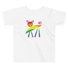 Rainbow Kitty Short Sleeve Toddler Tee