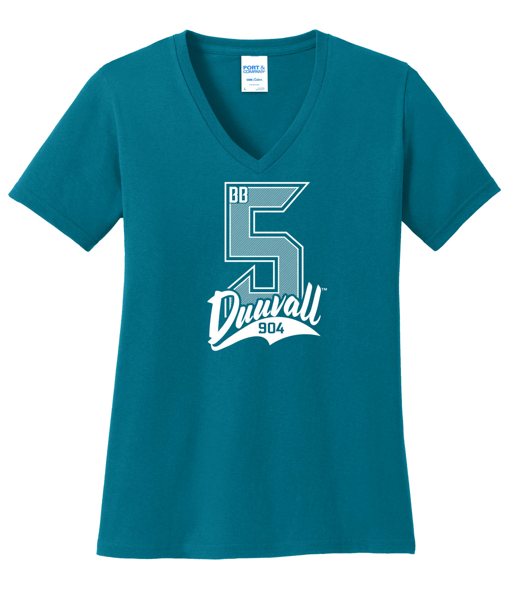 BB5 Team Color Teal Tee - Florida Native