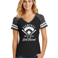 Diamonds Ladies Tee