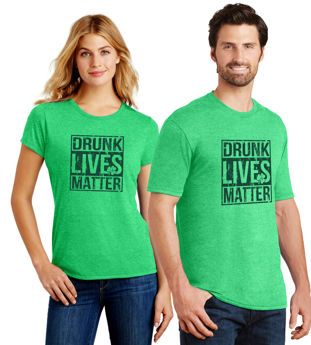 Saint Patrick's Day Drunk Live Matter, Funny Mens and Ladies Tee - Florida Native