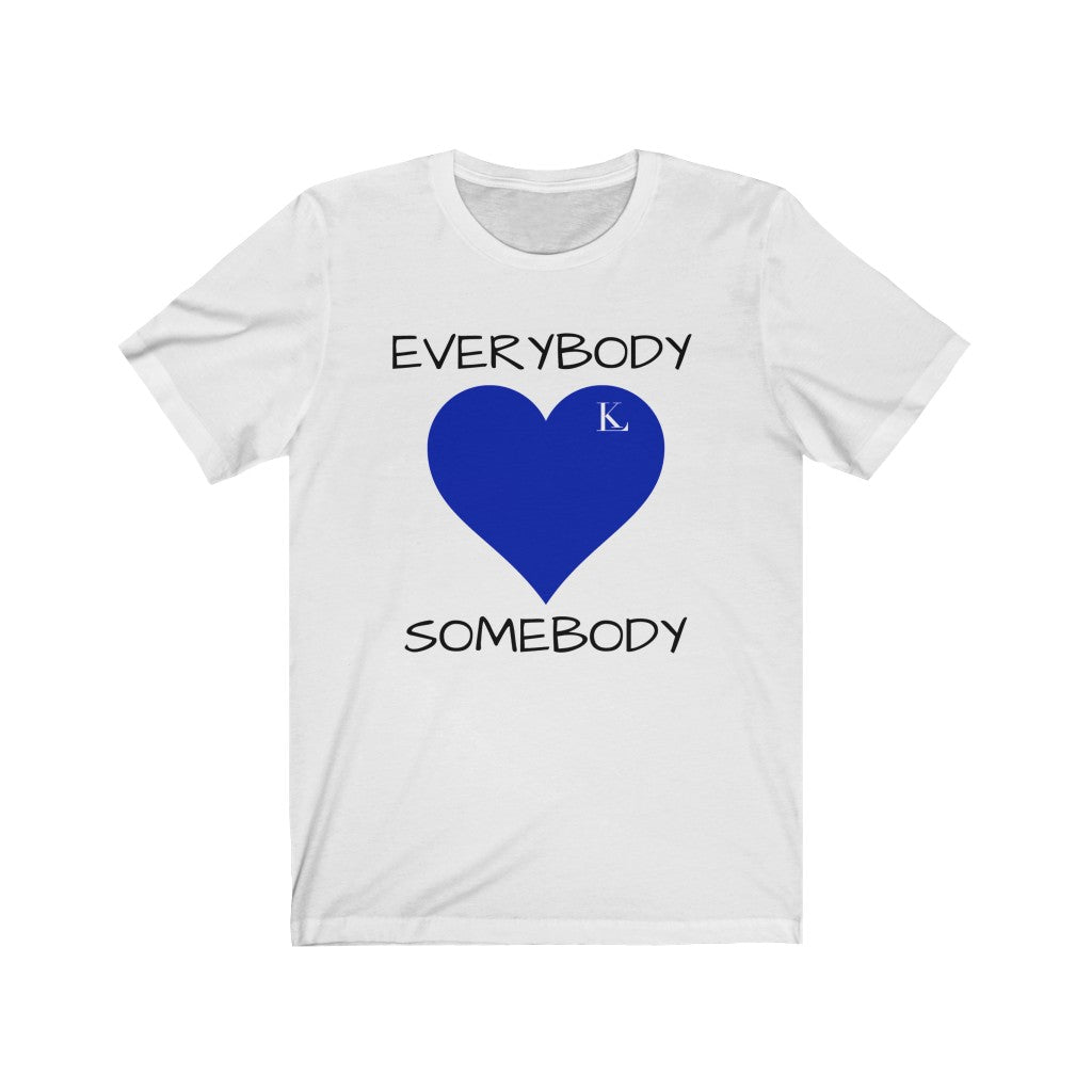 EVERYBODY LOVES SOMEBODY (Zeta) Unisex Jersey Short Sleeve Tee