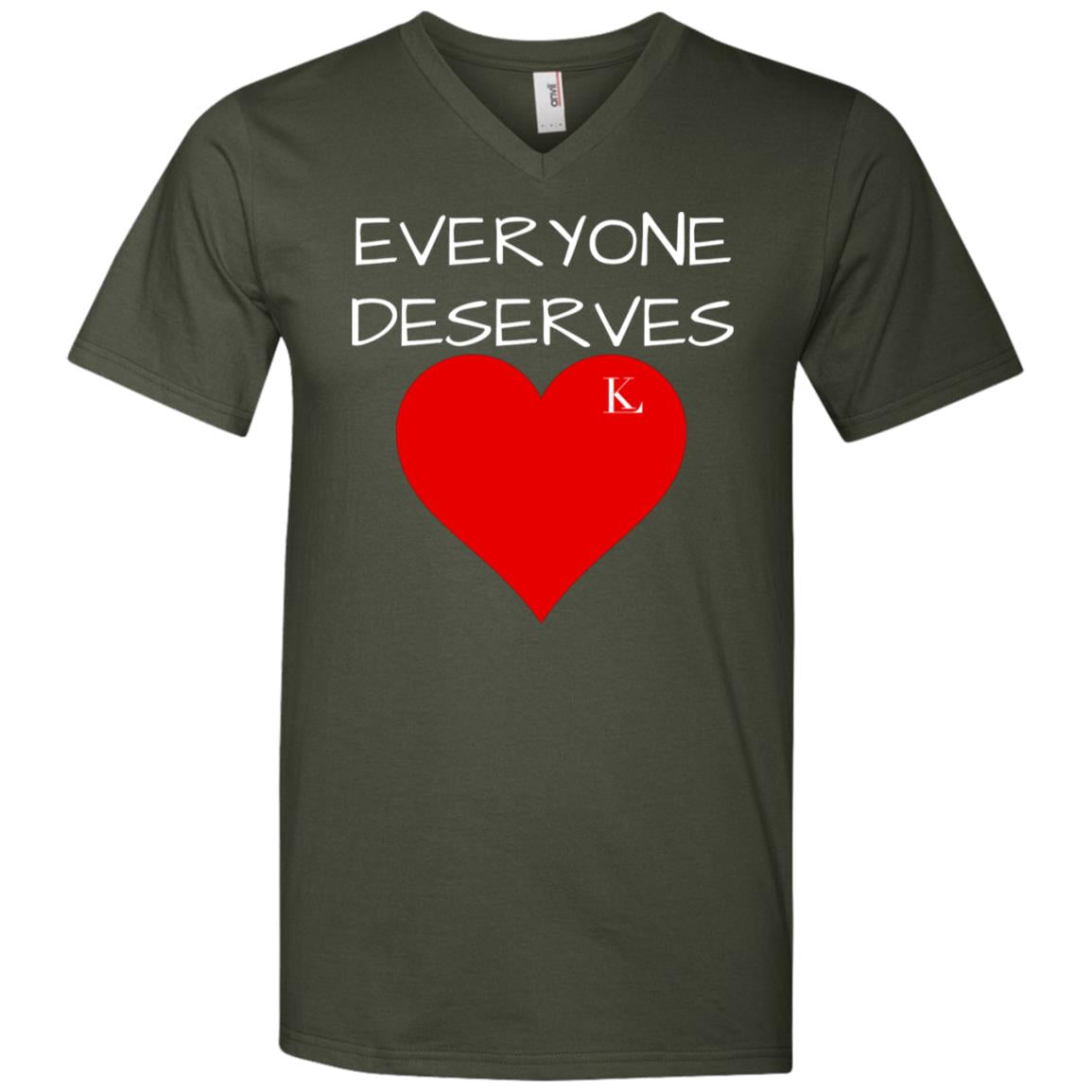 Everyone Deserves Love Men's V-Neck T-Shirt