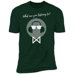 What Are You Listening To? Men's Crew Neck T-Shirt