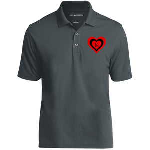 RED BLACK RED KL LOGO MEN'S POLO