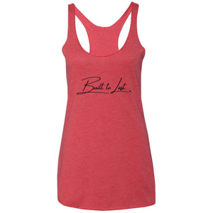 BUILT TO LAST Women's Racerback Tank