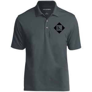 diamond logo black MEN'S POLO