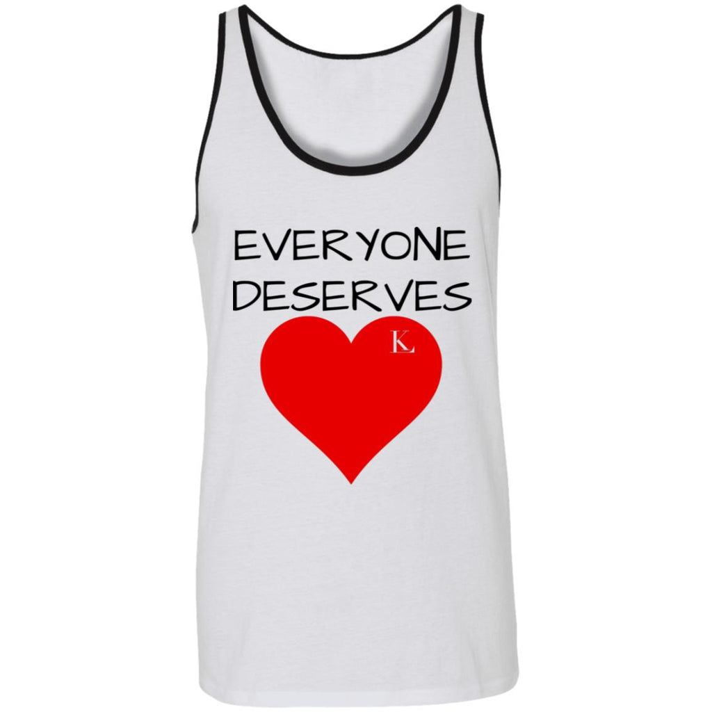 EVERYONE DESERVES LOVE Unisex Tank