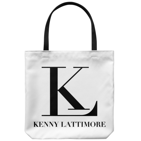 Kenny Lattimore KL Logo Tote Bag