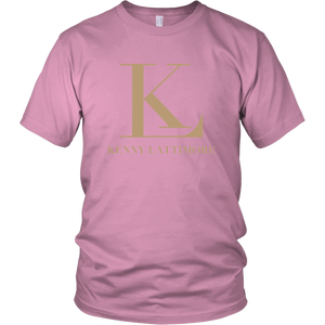 Kenny Lattimore Tan Logo Unisex T Shirt