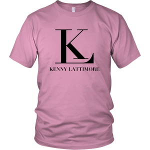 Kenny Lattimore Black Logo Unisex T Shirt