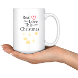 Real Love This Christmas 15oz. Mug