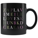 Love Language Mug (Black)