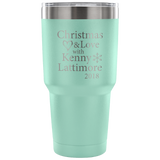 Christmas and Love with Kenny Lattimore 2018 30oz. Vacuum Tumbler