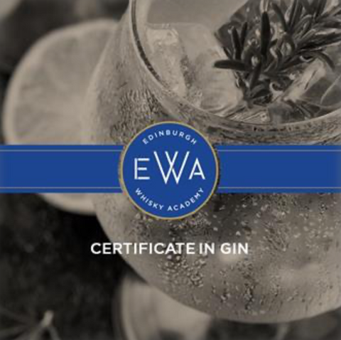 Gin Certificate Online with Edinburgh Whisky Academy