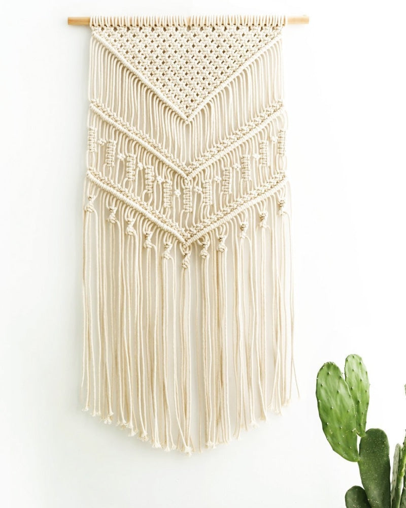 Macrame Wall Hanging - Handmade Wall Decor - wallandroom.com