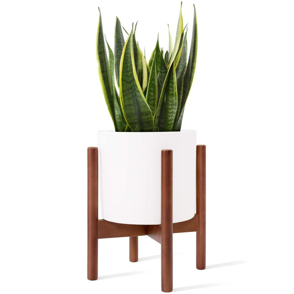 Wooden Plant Stand (No Pot) -Versatile Plant Pot Holder - wallandroom.com