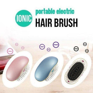 Ionic Hair Brush Straightener - For The Minimalist Man