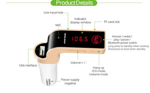 Bluetooth FM Transmitter - For The Minimalist Man