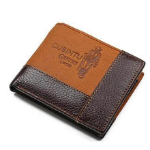 Genuine Leather Wallet - For The Minimalist Man