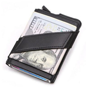 Leather Pop-Up Wallet - For The Minimalist Man