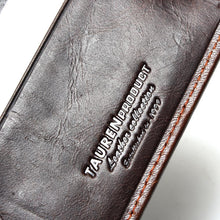 Natural Genuine Brown Leather Men's Wallet - For The Minimalist Man