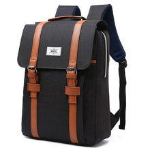 Vintage Canvas Backpack - For The Minimalist Man