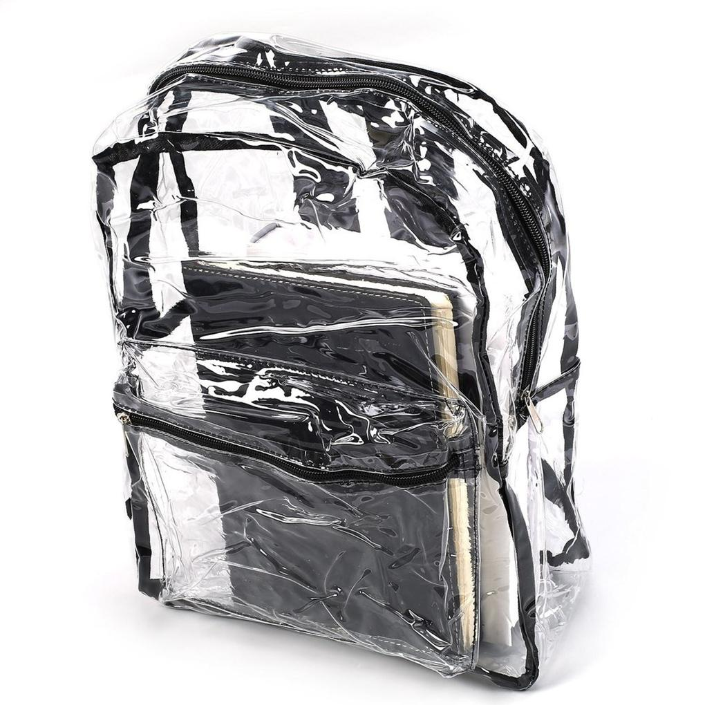 Safe Clear Transparent Concert Backpack Bag - For The Minimalist Man