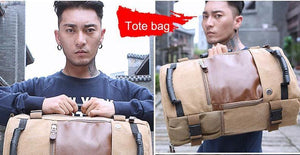 The Ultimate All-In-One™ Bag - For The Minimalist Man