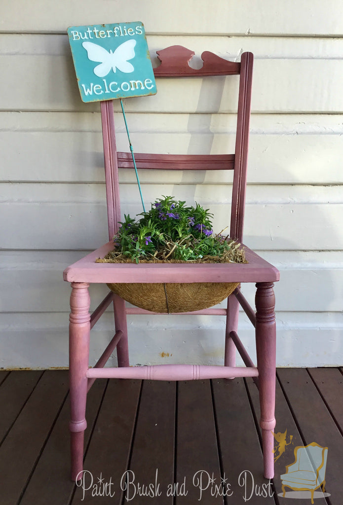 DIY Chair Planter