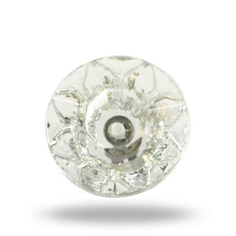 Clear Glass Fenton Knob