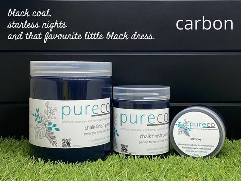 Chalk Finish - Carbon