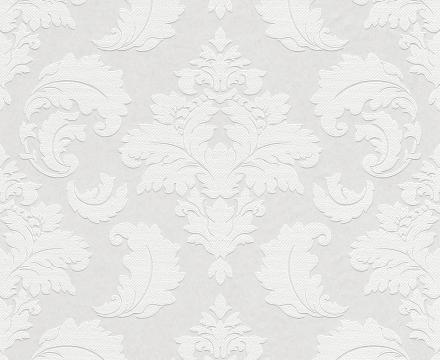 Paintable Wallpaper - Damask