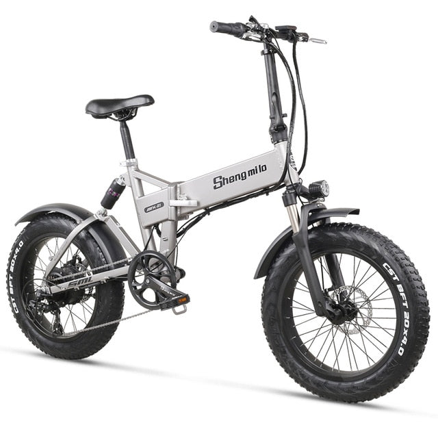 One of the Coolest Electric Folding Bikes on the Market