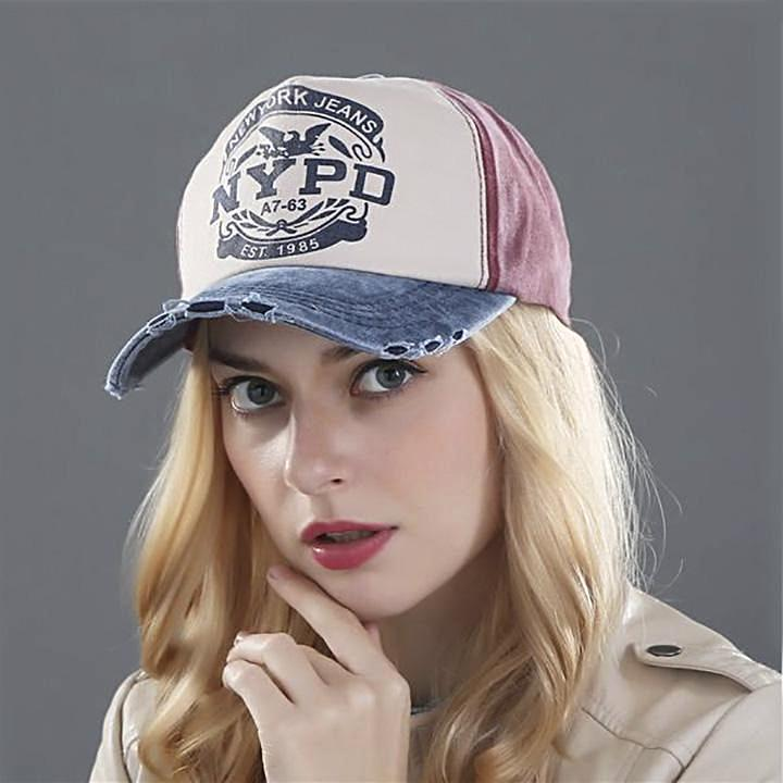 Sporty New York Style Fitted Cap