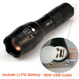 LED Tactical Flashlight 8000 Lumens
